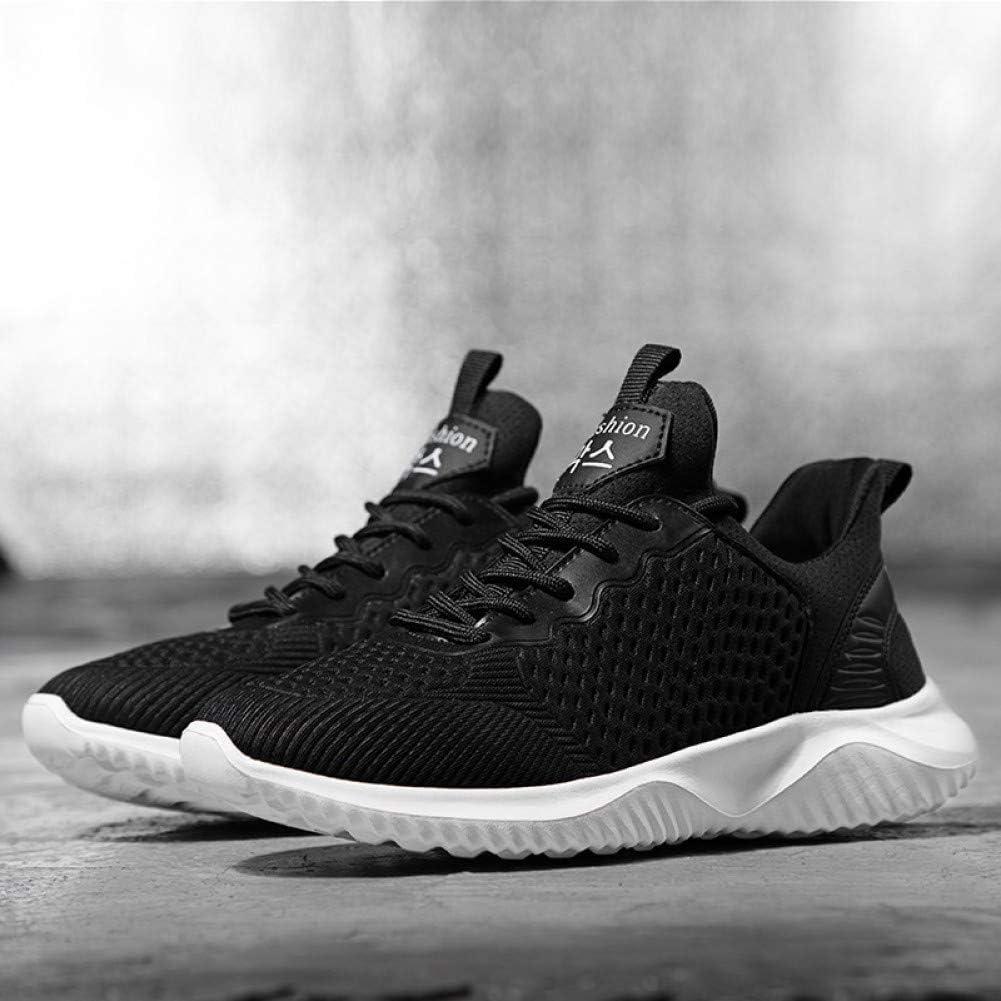 ASTAOT Zapatos para Correr Mujer para Adultos Primavera Nueva Al Aire Libre Zapatos Deportivos para Mujer Malla Transpirable Zapatillas De Deporte con Cordones-Black,7.5: Amazon.es: Deportes y aire libre