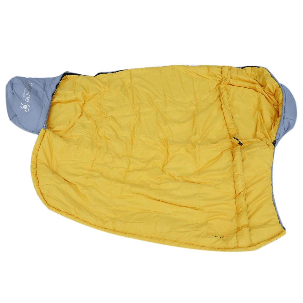 Dooret Outdoor Schlafen Kompressionsbeutel Mummy Art Thermal Warm Erwachsene Einzel Winter Camping Wasserdichte Professionelle Feste Tragetasche