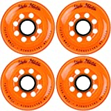 Labeda Inline Roller Hockey Skate Wheels Addiction Orange 72mm SET OF 4