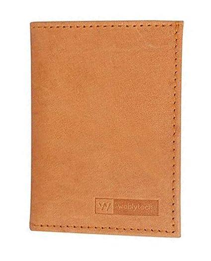 dc63fed27e09 Amazon.com: Super Slim Leather Men's Wallet Credit Card Case Sleeve ...
