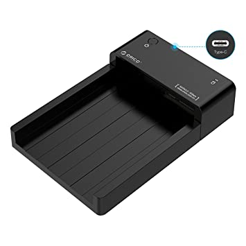 ORICO - Caja Disco Duro Externo 2.5/3.5 Pulgadas USB 3.0 Tipo C a ...