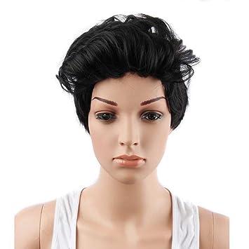 Amazon.com: utda.sh-fs wig Short Wavy Synthetic
