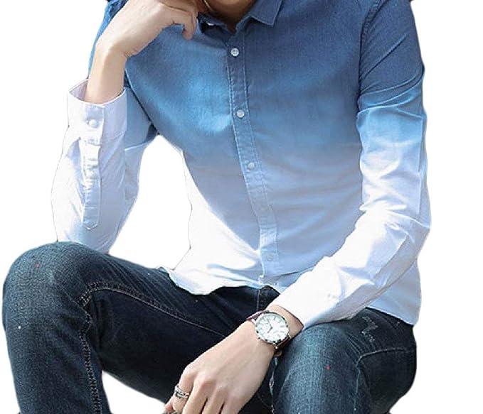 Amazon.com: Camisa de manga larga para hombre, ajustable ...
