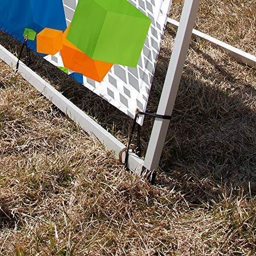 Vispronet - 3ft x 7ft Outdoor Horizontal Banner A-Frame - Sideline Banner Frames by Vispronet (Image #5)