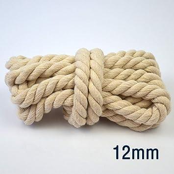 Cuerda de algodón Beige GBH6Q Cordón retorcido Redondo Grueso ...