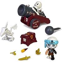 Pinypon Action. Cañón Pirata Fantasma para niños y niñas de 4 a 8 años (Famosa 700016238)