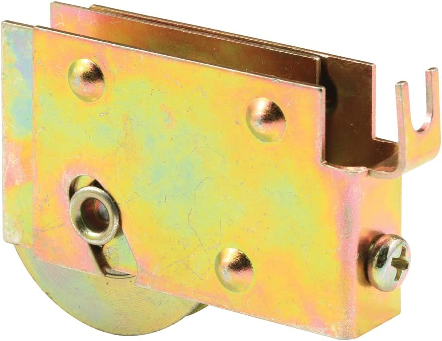 Slide-Co 131533 Sliding Door Tandem Roller Assembly with 1-Inch Steel Ball Bearing