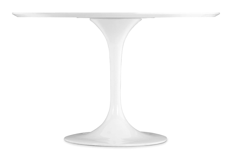 Amazon.com - Zuo Wilco Table, White - Tables