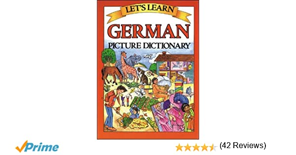 Let's Learn German Picture Dictionary: Marlene Goodman ...