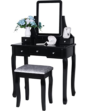 Brilliant Vanities Vanity Benches Amazon Com Gmtry Best Dining Table And Chair Ideas Images Gmtryco