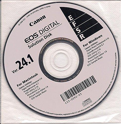 - Canon EOS Digital Solution Disk Ver. 24.1
