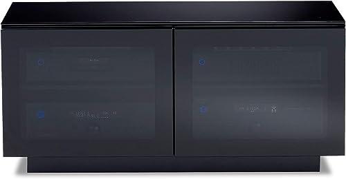 BDI Furniture 8224 Mirage Double Wide Media Cabinet, Black