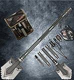 Hilltop To Cloud Outdoor Military Folding Shovel Kit High...