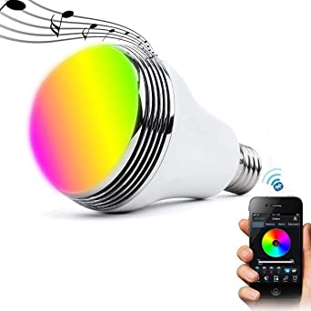 Ampoule Led Couleur Contrôle Bluetooth Easy To Use Articles Pour Le Four Maison