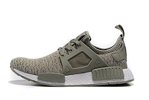 new arrival 8fee0 2e8a7 Men Women Running Shoes Primeknit ColorBOOST XR1 Olive Grey ...
