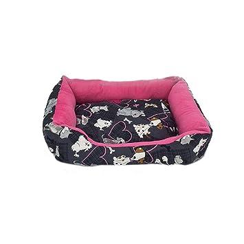 CHWWO Cama para Mascotas pequeña, Mediana y Grande, Nido de Perro, sofá Caliente