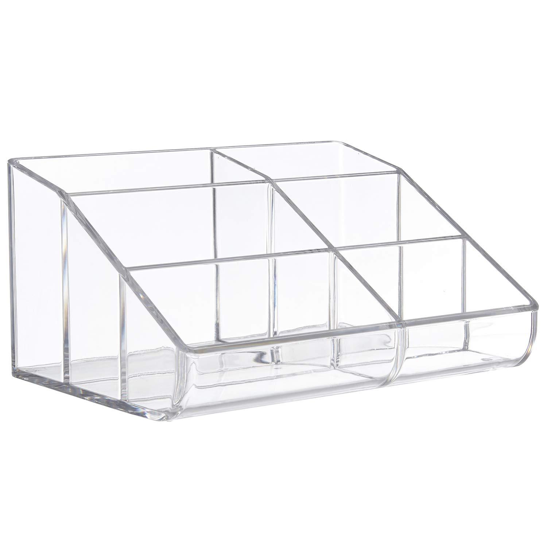 Clear Plastic Desktop Organizer
