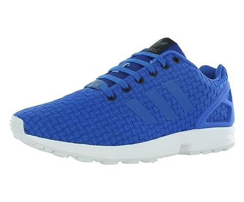 official photos e6aec 8a98e Image Unavailable. Image not available for. Color  adidas Zx Flux Men s  Shoes Size 11.5 Blue