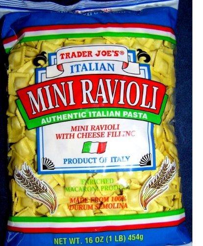 Trader Joe's Italian Mini Ravioli with Cheese Filling (16oz 7 (Mini Ravioli)
