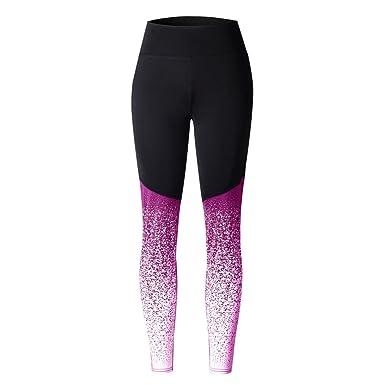 1221baf152a Rawdah Women Sports Yoga Workout High Waist Running Pants Fitness Elastic  Leggings Blue Red Gray Hot
