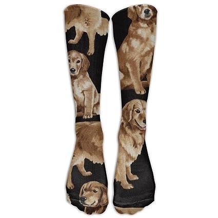 Amazon Com Golden Retrievers Compression Socks For Men Women