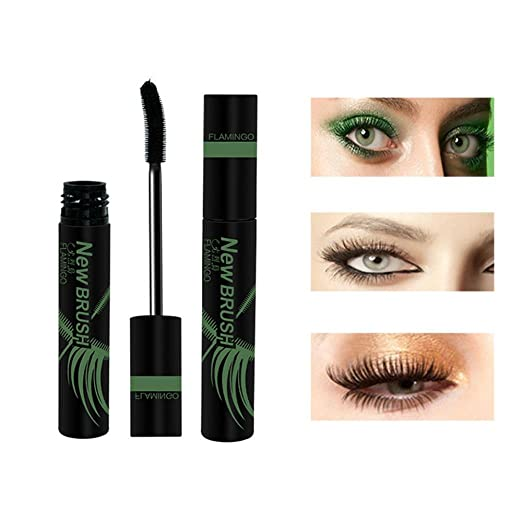 Inverlee New Eyelash Mascara Long Black Lash Extension Waterproof Eye Cosmetic Makeup Tool (A)