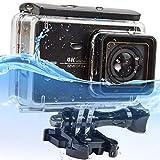 First2savvv black 30M Touch screen back door Waterproof Housing Diving Swimming Protective case cover for Yi 4K+ . Yi Discovery . Yi Lite . Yi 4K Plus . Xiaoyi yi 2 4k action camera - XM2-FSK-CM-01