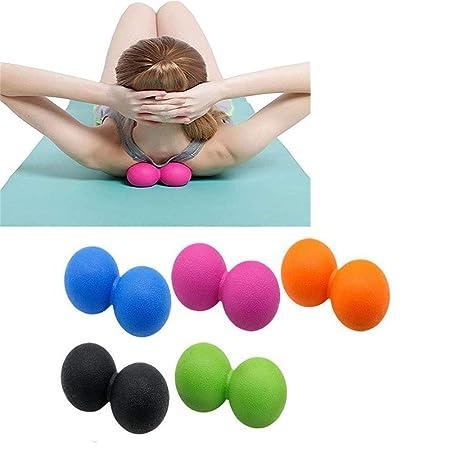 WXH 5PCS Bola de Masaje de Yoga Terapia de Punto de Disparo ...