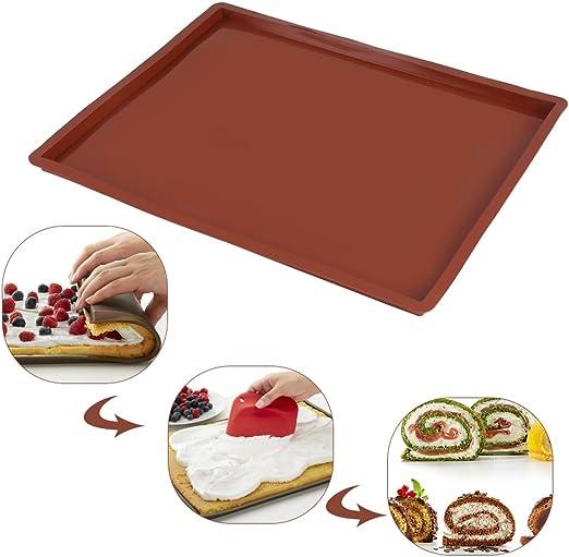 Silicone Baking Mat Non-stick Oven Cake Baking Sheet Bakeware Heat-resistant