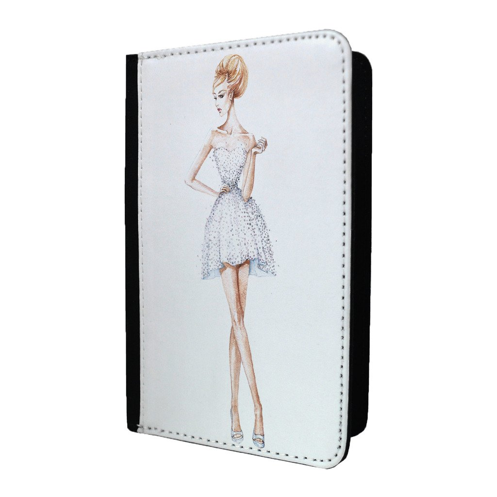Runway Fashion Glamour Robe passeport Coque–S893