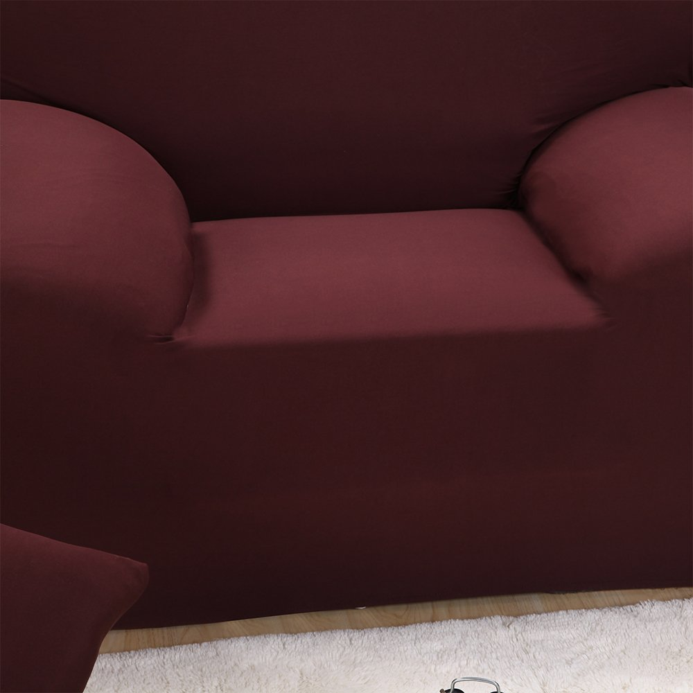 Argstar Couch Slipcover Lightweight Furniture Protector Cover Brown