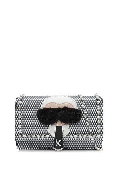 23d99401297e Fendi Karlito Wallet On Chain Womens Calfskin Leather