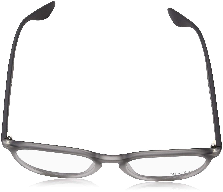 8bacda4bd2 Amazon.com  Ray-Ban Women s RX7046 Eyeglasses Grey Gradient Rubber 51mm   Shoes