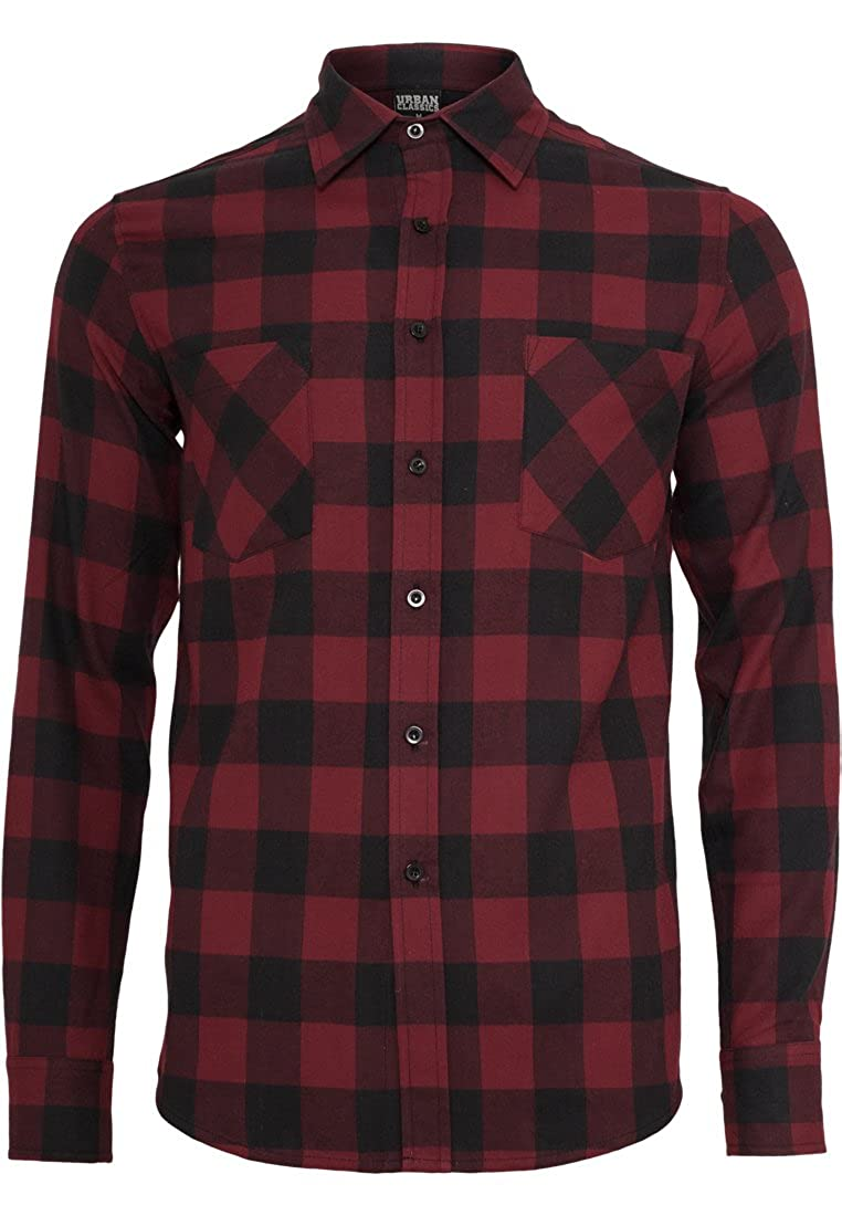 Chemise de Loisirs Homme Urban Classics Checked Flanell Shirt