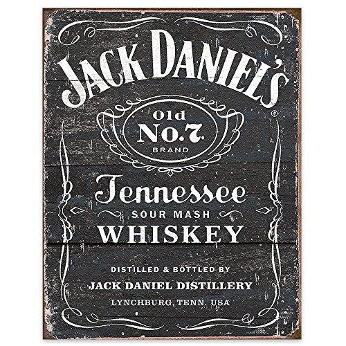 Logo Tin (Jack Daniel's Black Logo Tin Sign 13 x 16in)