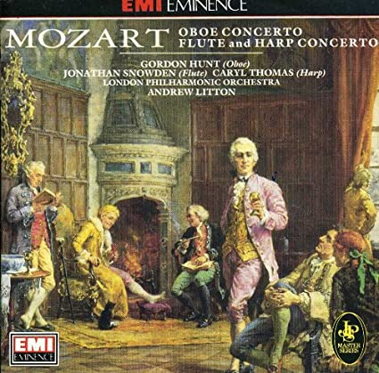 Mozart: Oboe, Flute and Harp Concertos - Gordon Hunt, Jonathan Snowden, Caryl Thomas, LPO, Andrew Litton
