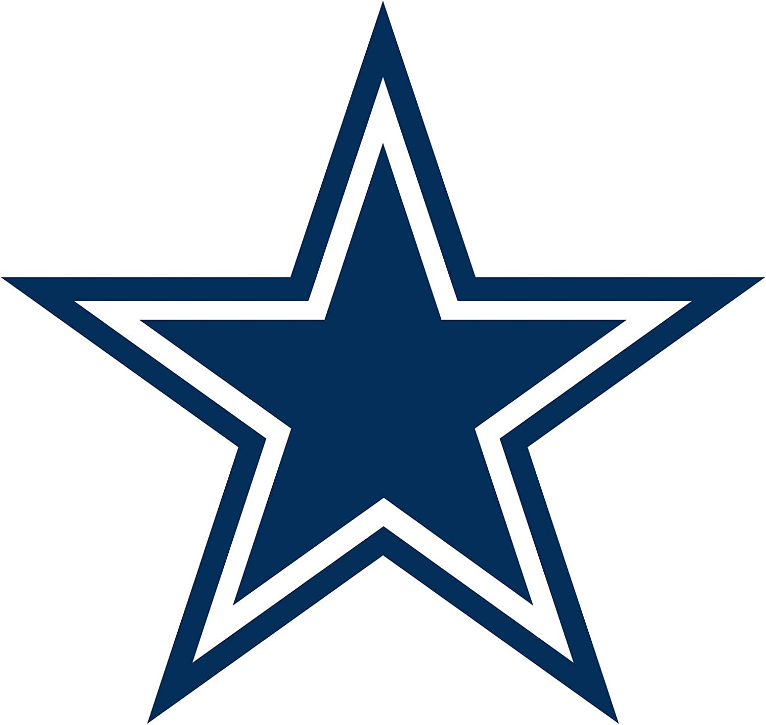 Dallas Cowboys 2021 Logo Minis - Officially Licensed NFL Removable Decals, 12x17