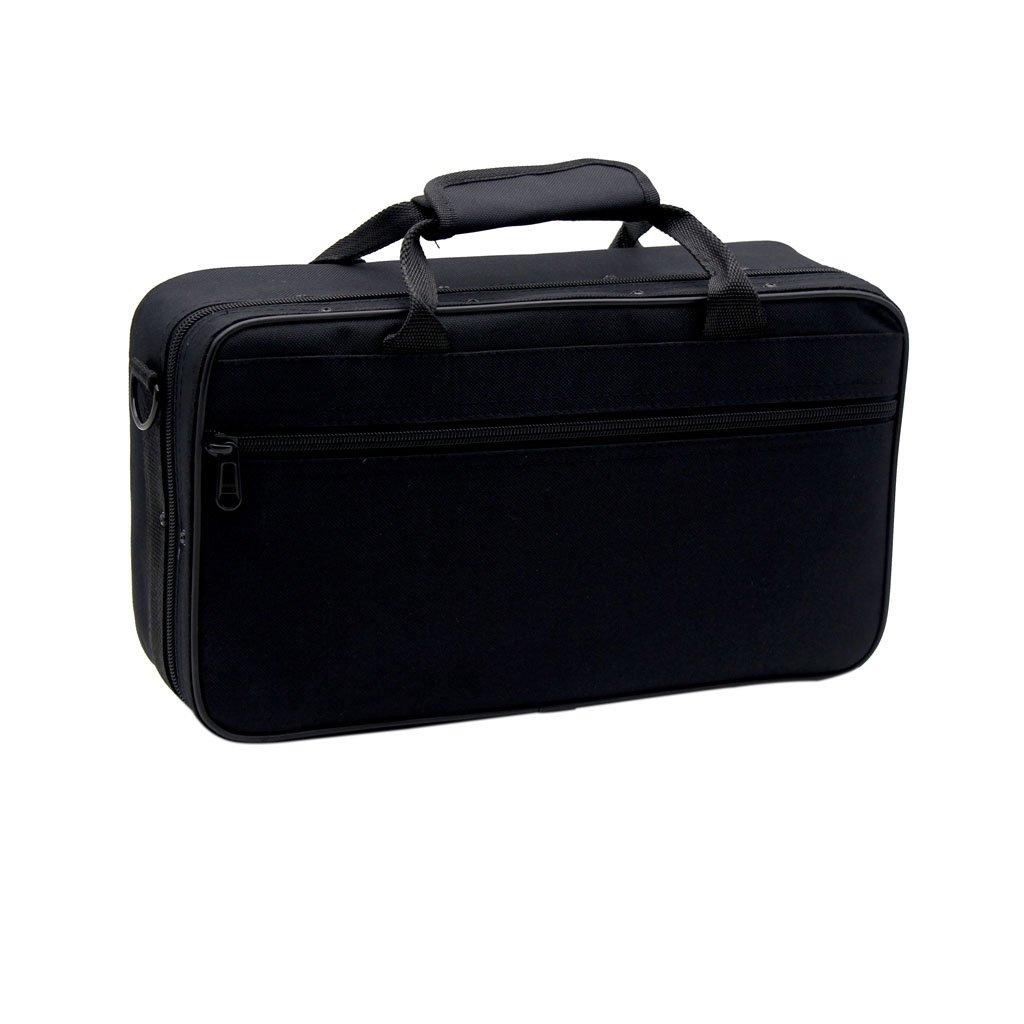 Nylon Padded Clarinet Case Bag Handbag Shoulder Bag Black Generic STK0115013028