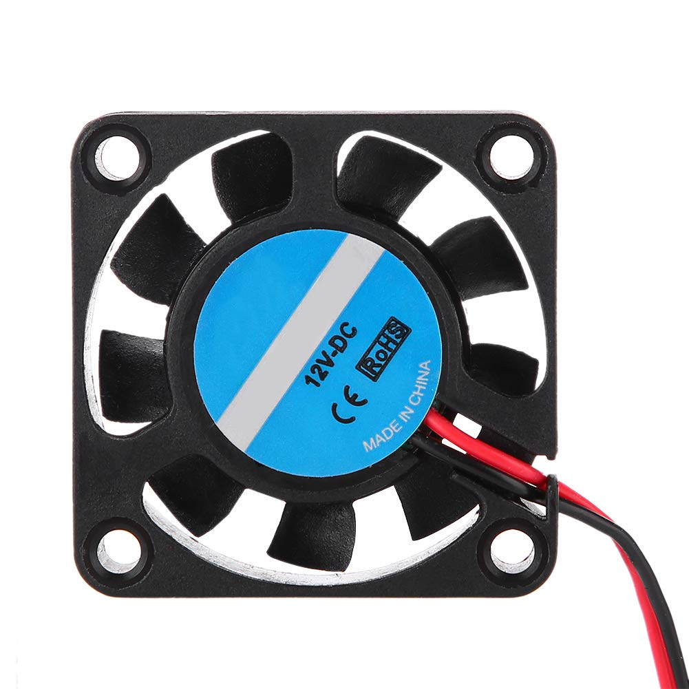 Cooling Fan for 3D Printer, ASHATA 40mm x 40mm x 10mm 3D Cooling Fan,12V 7000RPM 6.7CFM High-Speed Cooling Fan 3D Printer Parts (4 Packs)