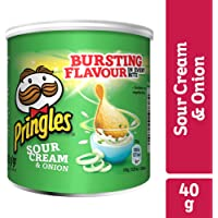 Pringles Sour Cream & Onion Flavored Chips 40 gram Can