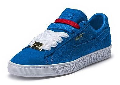 puma suede classic blue