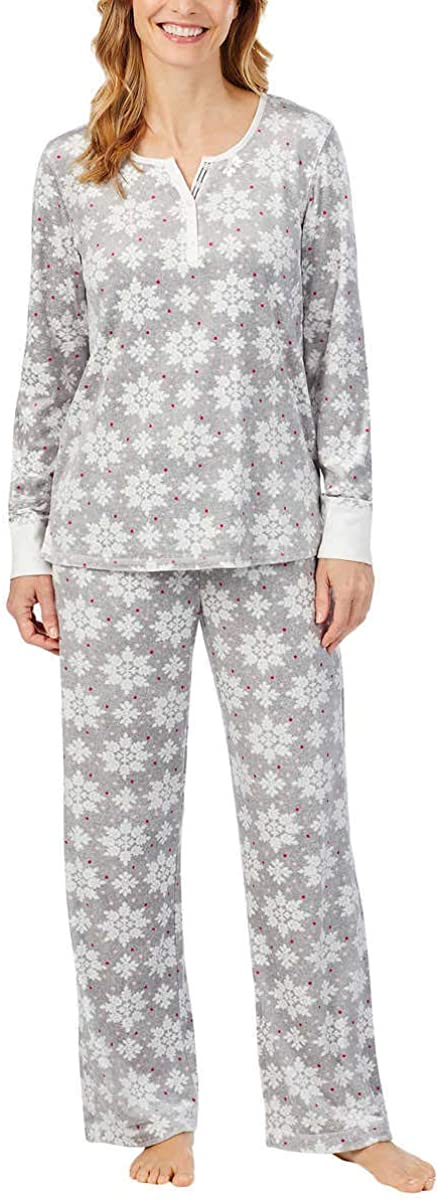 Nautica Women's Spring new work one after another 2 Piece Set Sleepwear Pajama Fleece Sales of SALE items from new works