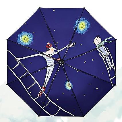 Parasol Protector Solar Anti-UV Paraguas Vinilo Anime ...