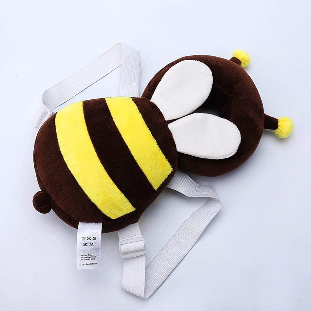 amarillo Ogquaton 1 pieza de protecci/ón para la cabeza del beb/é almohadilla anti-ca/ída modelado de la cabeza para los ni/ños caminando protector