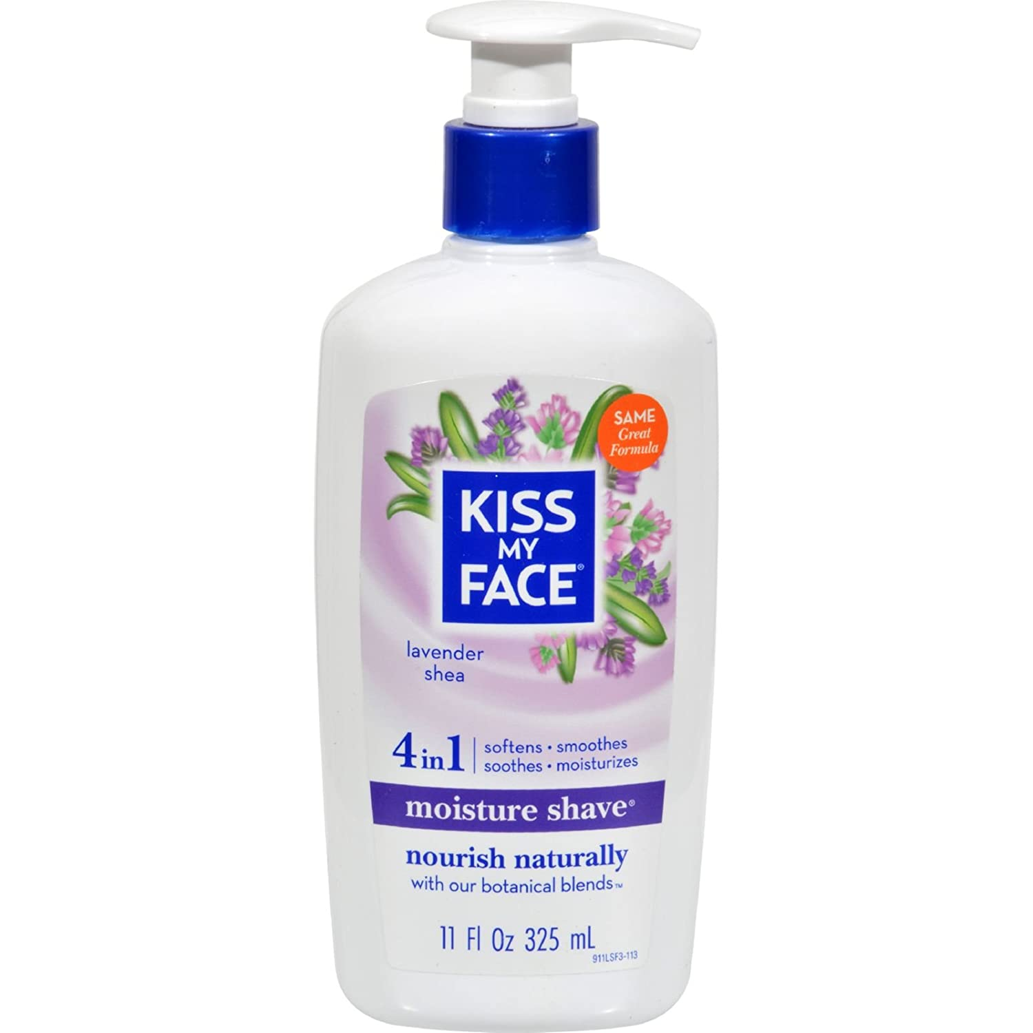 Kiss My Face Lavender and Shea Butter Moisture Shave, 11 Ounce - 6 per case.