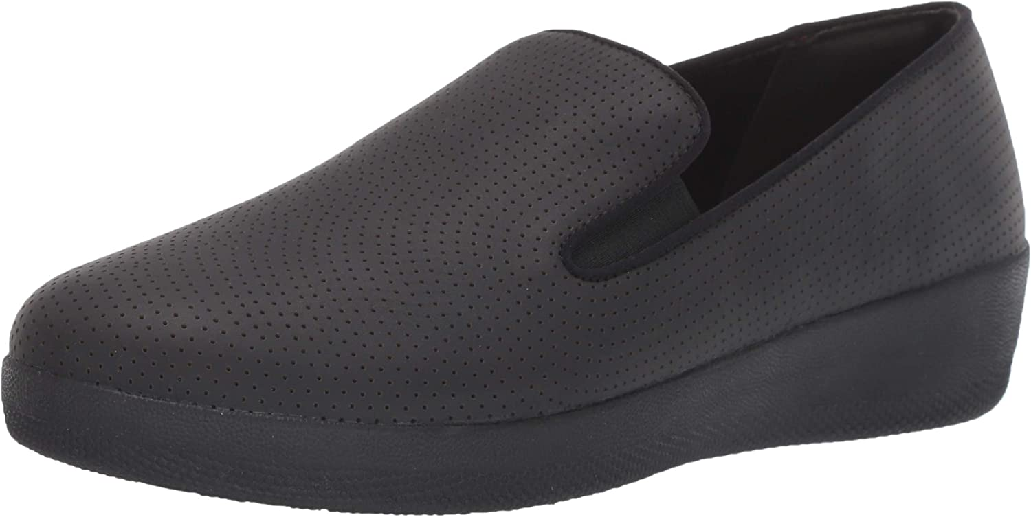 | FitFlop Women's Superskate Perforated Skate Shoe | Loafers & Slip-Ons