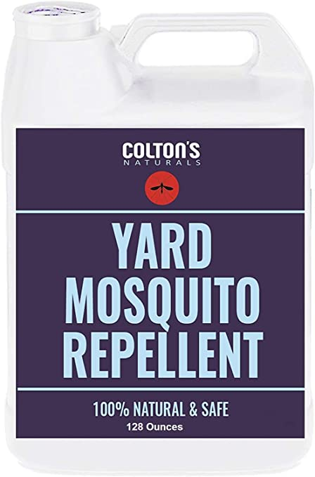 colton s naturals mosquito repellent for yard 1 gal repellent outdoor yard spray for home lawn patio garden yard perimeter outdoor