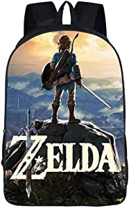 Zelda Schoolbag Breath of the Wild Travel Backpack Cosplay Sackpack Rucksack