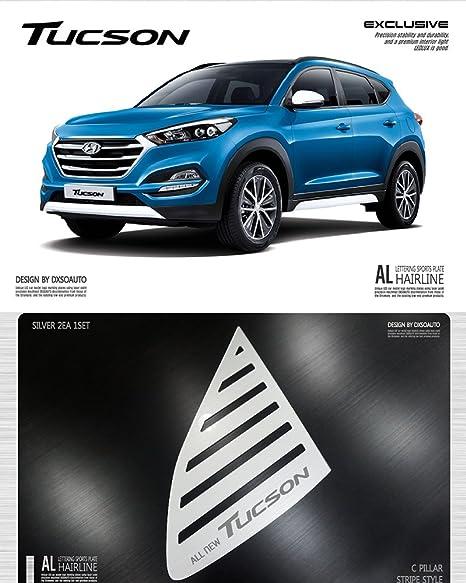 lightkorea al pelo línea ventana deportes placa panel 2pcss para Hyundai Tucson 2016 2017