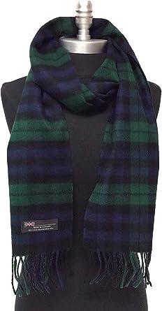 SCOTLAND Guaranteed 100/% Cashmere Solid Light Green.Soft.Fringed Shawl Scarf
